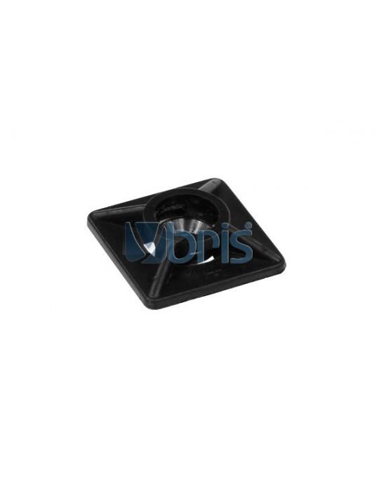 Clip Fermacavi adesivo  Black Ybris-Cooling - 1