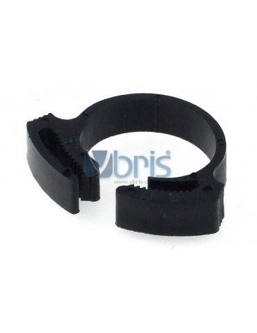 hose clamp 17 - 19mm plastic black