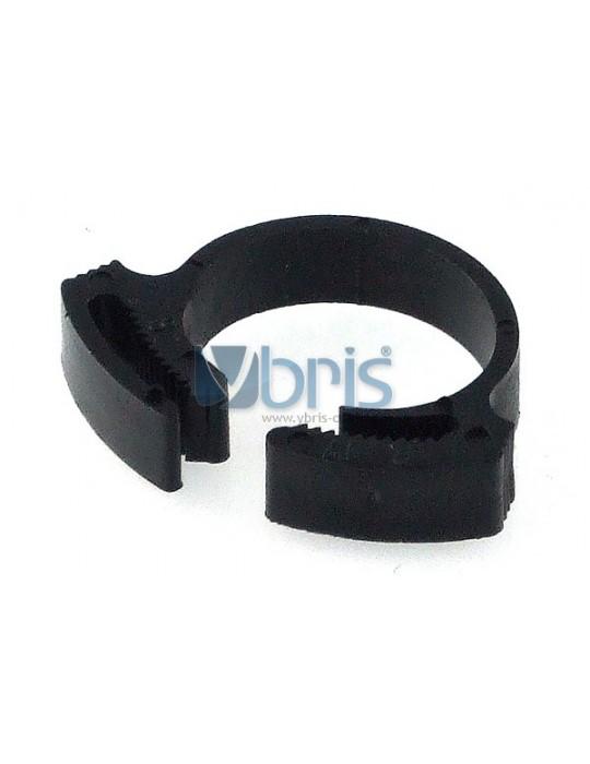 hose clamp 17 - 19mm plastic black Phobya - 1