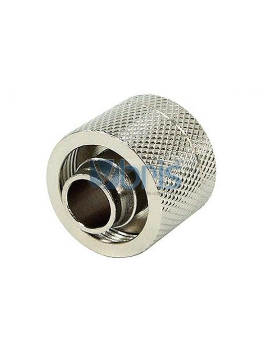 Raccordo Compressione 1/4G  tubo 10/16mm Silver Phobya - 1