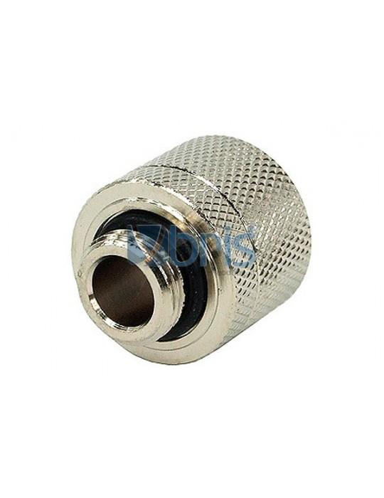 Raccordo Compressione 1/4G  tubo 10/16mm Silver Phobya - 2