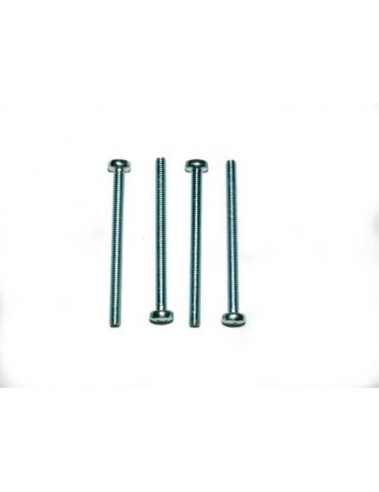 Set viti M4 x 50mm  acciaio zincato (4 pz) Ybris-Cooling - 1