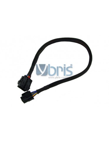 Phobya extension 8-Pin or EPS12V 45cm - black