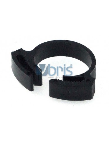 clamp 15 - 17mm plastic black