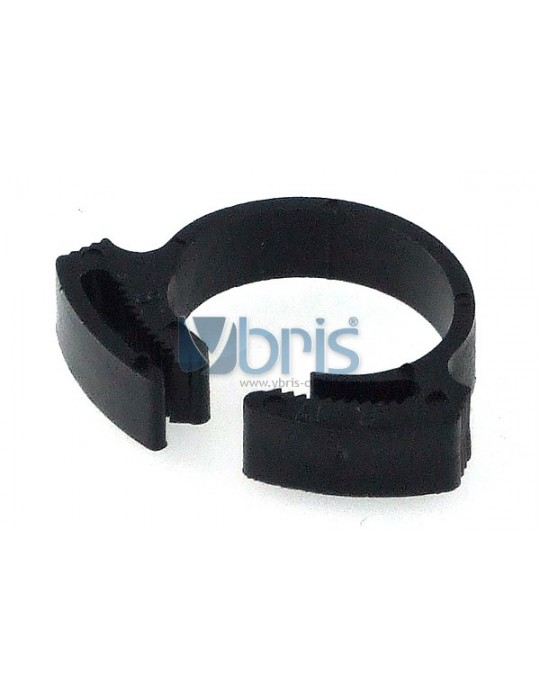 clamp 15 - 17mm plastic black Phobya - 1