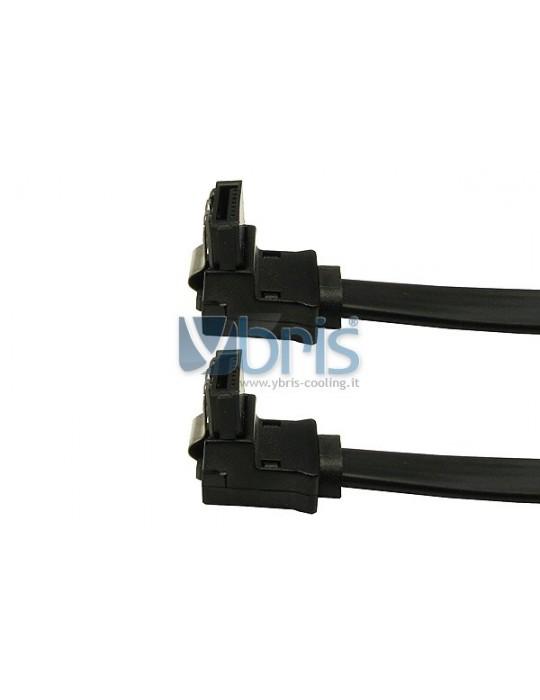 SATA II cavo 45cm con  terminali a 90° Mod/Smart - 1
