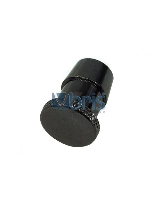 Tappo portatubo 13mm  Black Nikel Phobya - 1
