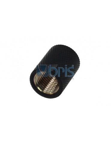 Alphacool bussola G1/4 G1/4 F/F - deep black