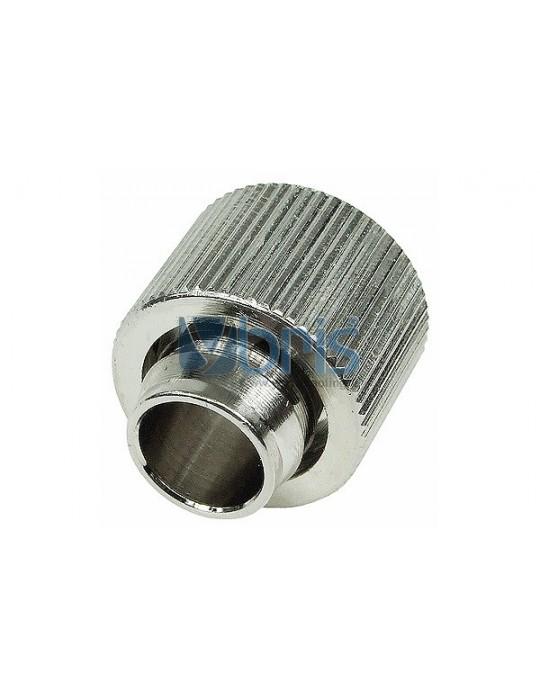 Raccordo compressione 1/4G Tubo 13/16 Silver Nikel Compact Phobya - 1