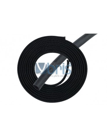 "Phobya Simple Sleeve Kit 6mm (1/4"") black 2m incl. Heatshrink 30cm"