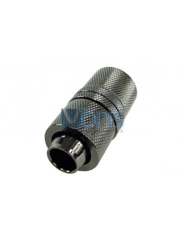 Raccordo passaparete compressione Tubo 13/16 Black Nikel