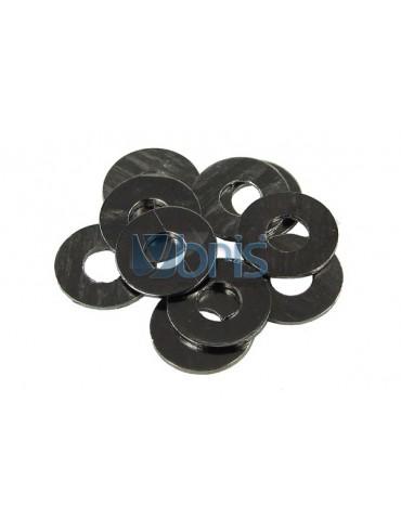 Kit rondelle M3 Alluminio Black
