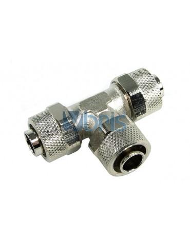 Raccordo a T per tubo 13/10mm (10x1,5mm) a compressione