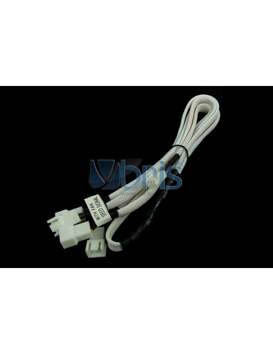 Phobya Y-cable 3Pin Molex to 4x 3Pin Molex 60cm - UV White Phobya - 1