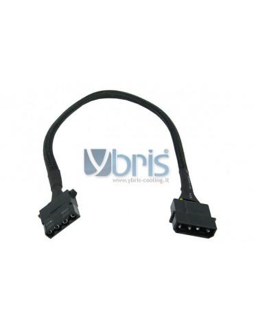 Phobya 4Pin Molex power extension 30cm - black