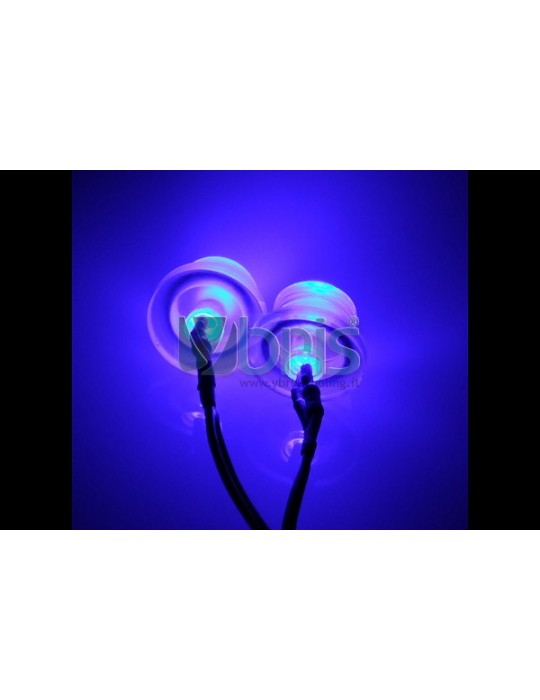 LED 5mm twin ultra bright BLUE Ybris-Cooling - 2