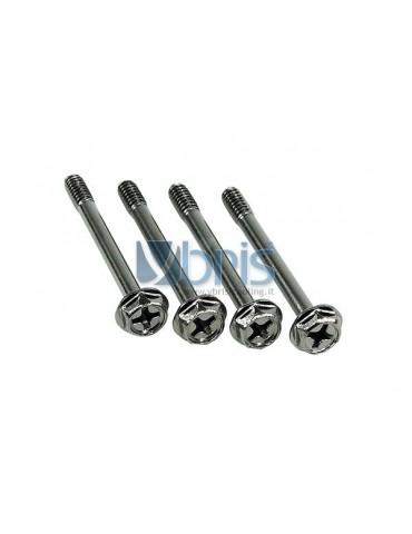 VITI Phobya L.35 mm  passo 6/32  black Nickel (4 pz)