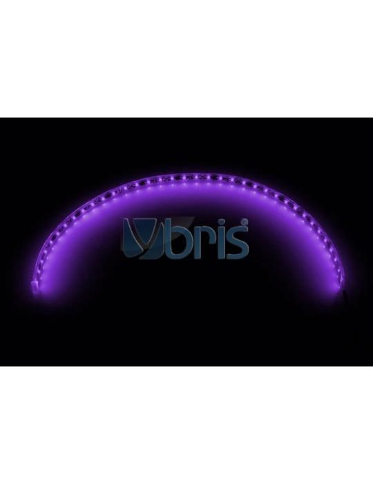 LED FlexLight SMD LEDs - 30x 2mm SMD LEDs UV - 60cm Phobya - 1