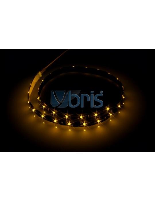 LED FlexLight SMD LEDs - 30x 2mm SMD LEDs Yellow - 60cm Phobya - 1