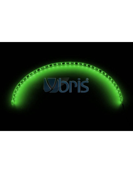 LED FlexLight SMD LEDs - 30x 2mm SMD LEDs Green - 60cm Phobya - 1