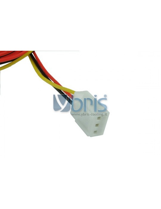 Y-cable 3Pin Molex to 4x 3Pin Ybris-Cooling - 4