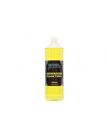 Alphacool ADDITIVO Eiswasser Crystal Yellow UV 1000ml