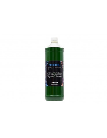 Alphacool ADDITIVO Eiswasser Crystal GREEN UV 1000ml