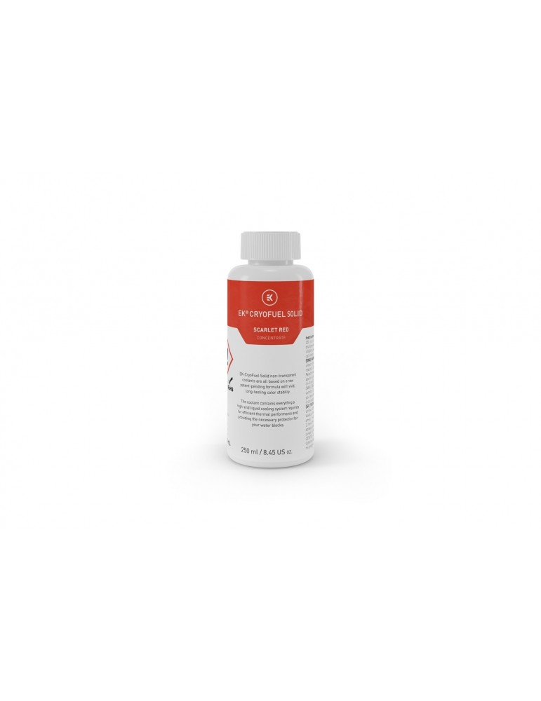 EK-CryoFuel Solid Scarlet Red (Concentrato 250mL)