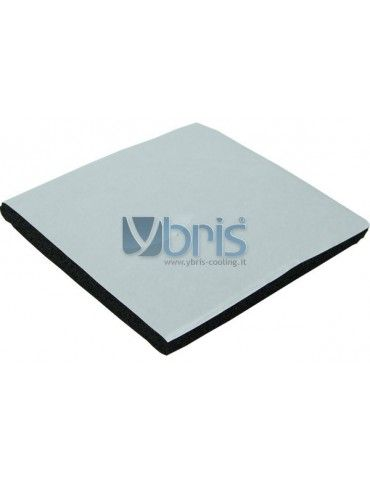 Neoprene a celle chiuse adesivo 100x100mmx10mm