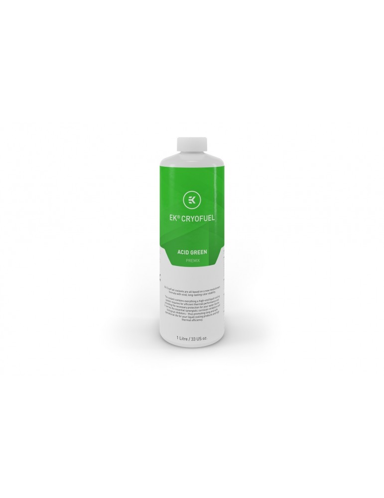 EK-CryoFuel Acid Green (Pre-miscelato 1000ml)