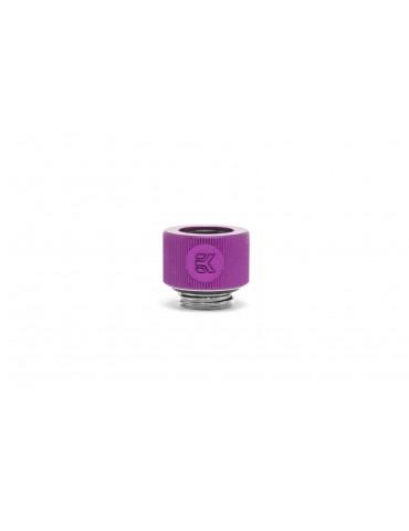 EK-HDC Raccordo per tubo rigido 12mm G1/4 - Viola