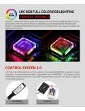 Barrow Waterblock Intel X99/X299 Aurora RGB Nero LTYK3X-04 V2