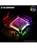 Barrow Waterblock Intel 115X Aurora RGB Nero LTYK3-04 V2