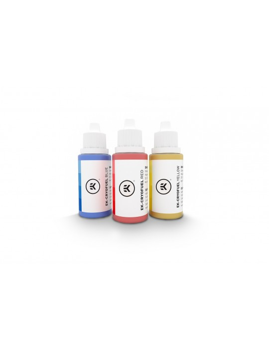 EK-CryoFuel Dye Pack - Kit di Coloranti Concentrati EKWB - 1