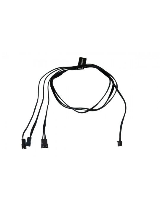 Alphacool Splitter D-RGB 3 x  3 pin JST male connector 60cm - black  Alphacool - 2