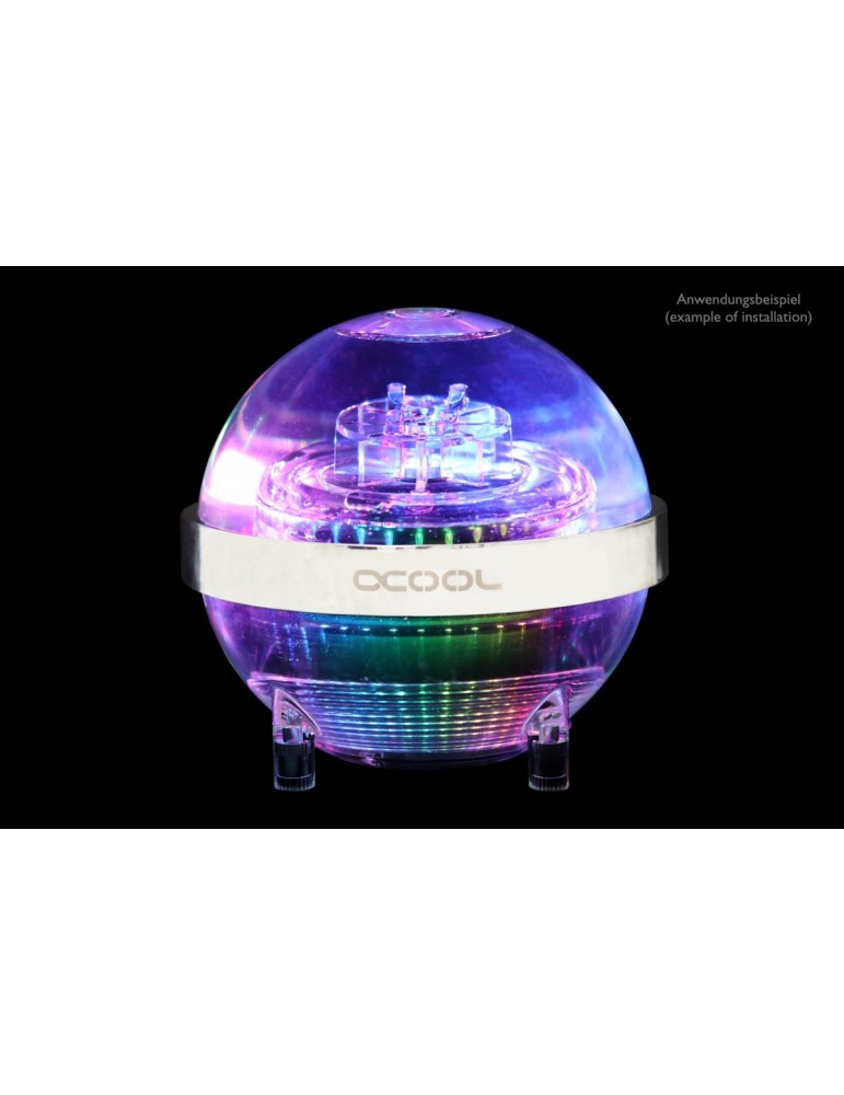 Alphacool Eisball D5 TOP D-RGB - Plexi (D5/VPP655 non inclusa)