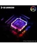 Barrow Waterblock AM4 Aurora RGB Nero LTYK3A-04 V2