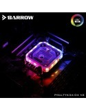 Barrow Waterblock AM4 Aurora RGB Nero LTYK3A-04 V2