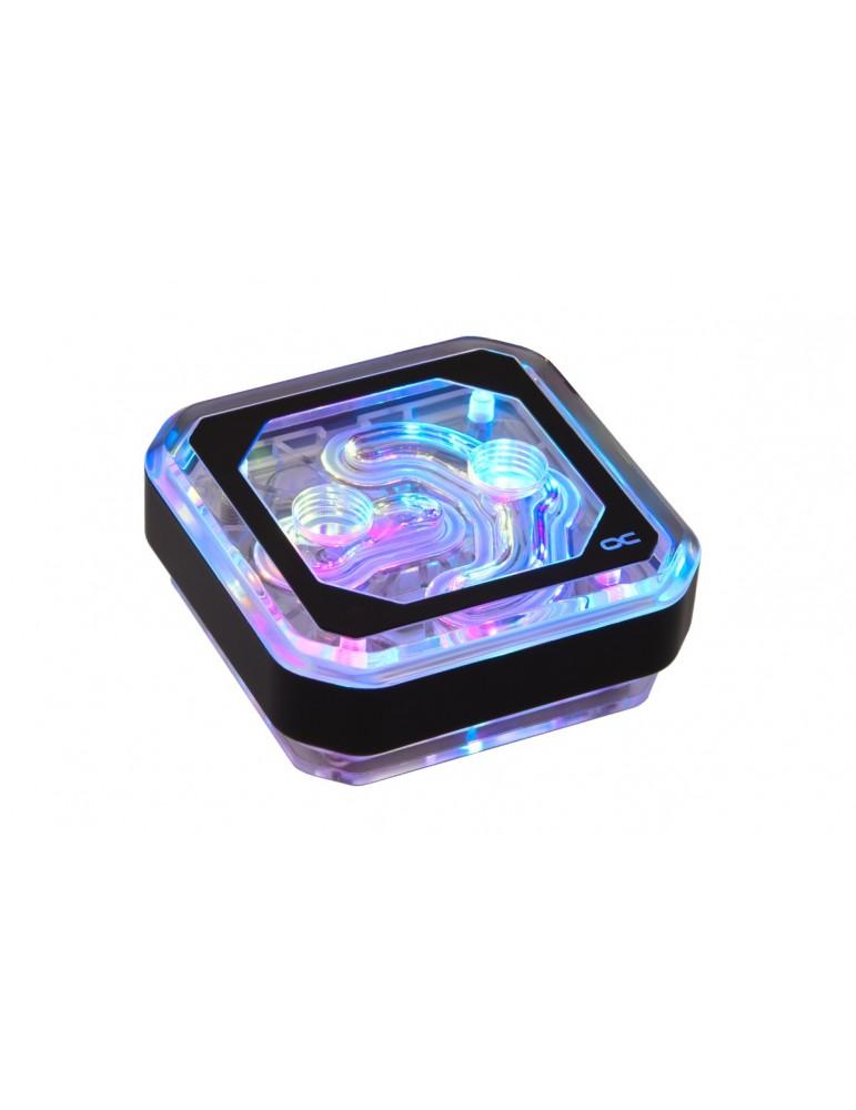 Alphacool Eisblock XPX Aurora - Plexi Black Digital RGB