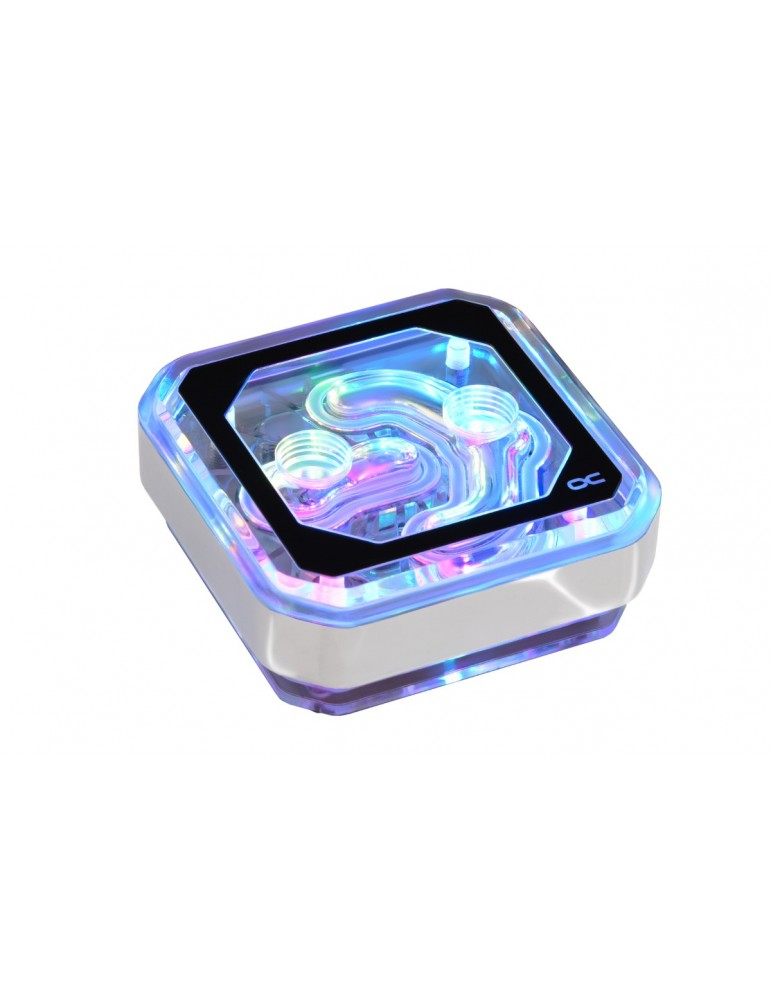 Alphacool Eisblock XPX Aurora - Plexi Chrome Digital RGB