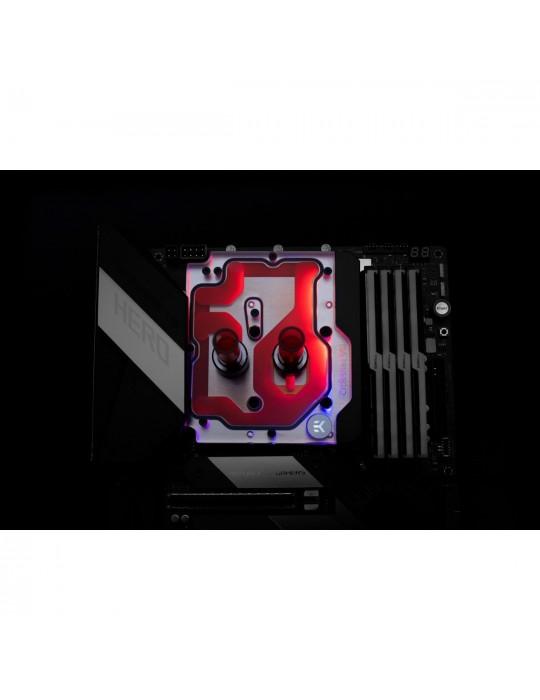 EK-Quantum Momentum ROG Crosshair VIII Hero D-RGB - Plexi EKWB - 4