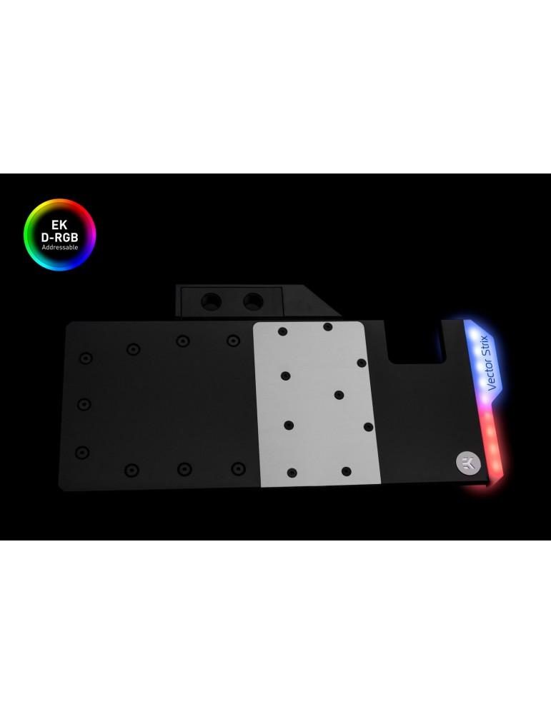EK-Quantum Vector Strix RTX 2080 Ti D-RGB - Nickel + Acetal
