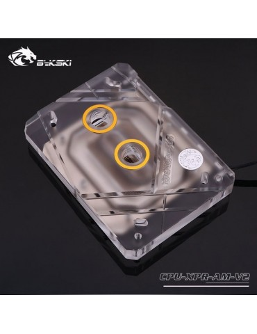 Bykski Waterblock AMD AM4 CPU-XPR-AM-V2 - Plexi - RGB