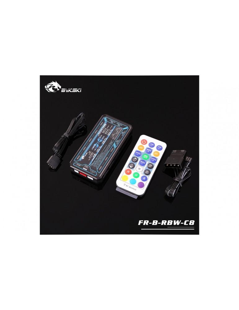 Bykski Controller D-RGB RBW LED Lighting Sync RGB 5V - Black - FR-B-RBW-C8