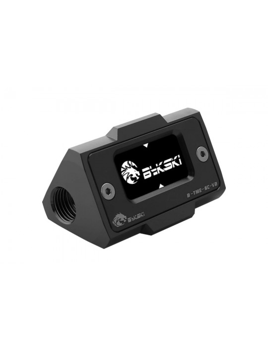 Bykski B-TME-SC-V2-BK Sensore di Temperatura digitale con schermo LCD - Alluminio Anodizzato Black Bykski - 3