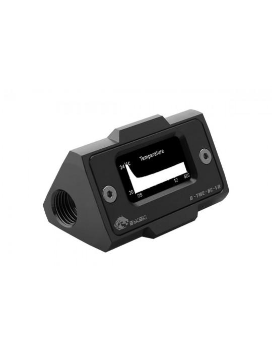 Bykski B-TME-SC-V2-BK Sensore di Temperatura digitale con schermo LCD - Alluminio Anodizzato Black Bykski - 2