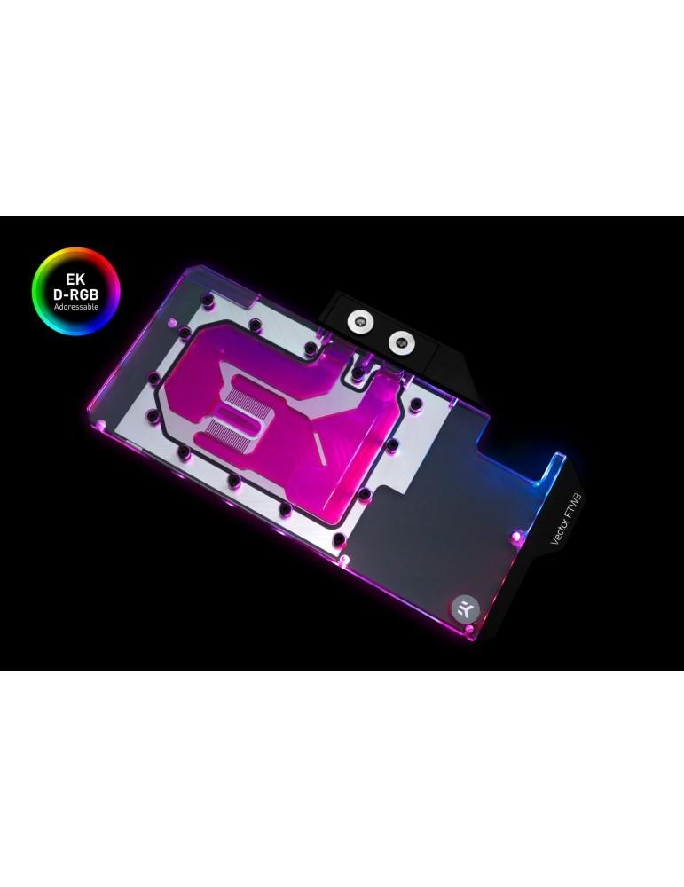 EK-Vector FTW3 RTX 2080 D-RGB - Nickel + Plexi