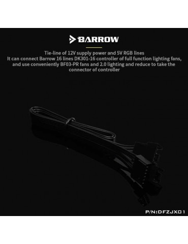 BARROW prolunga per controller DK301-16 - DFZJX01