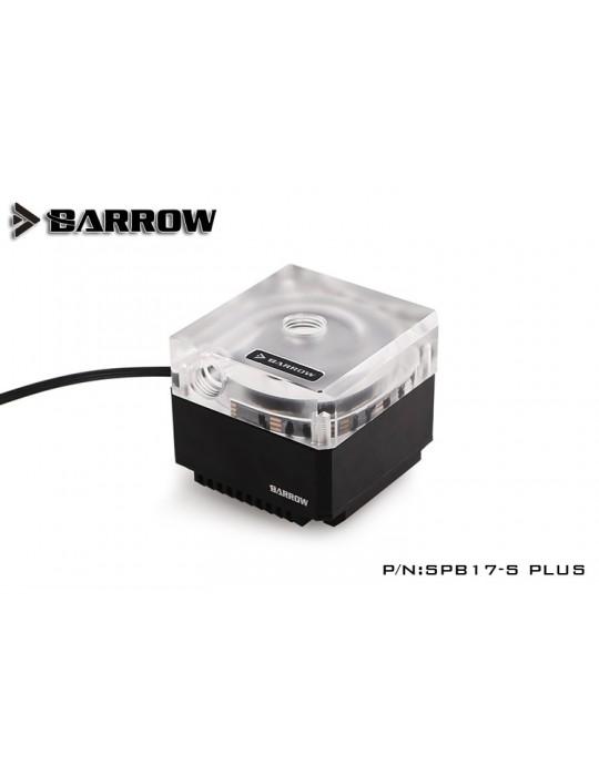 Barrow SPB17-S Plus Pompa PWM 17W RGB Nero/Trasparente BARROW - 2