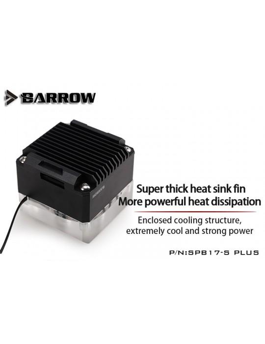 Barrow SPB17-S Plus Pompa PWM 17W RGB Nero/Trasparente BARROW - 3